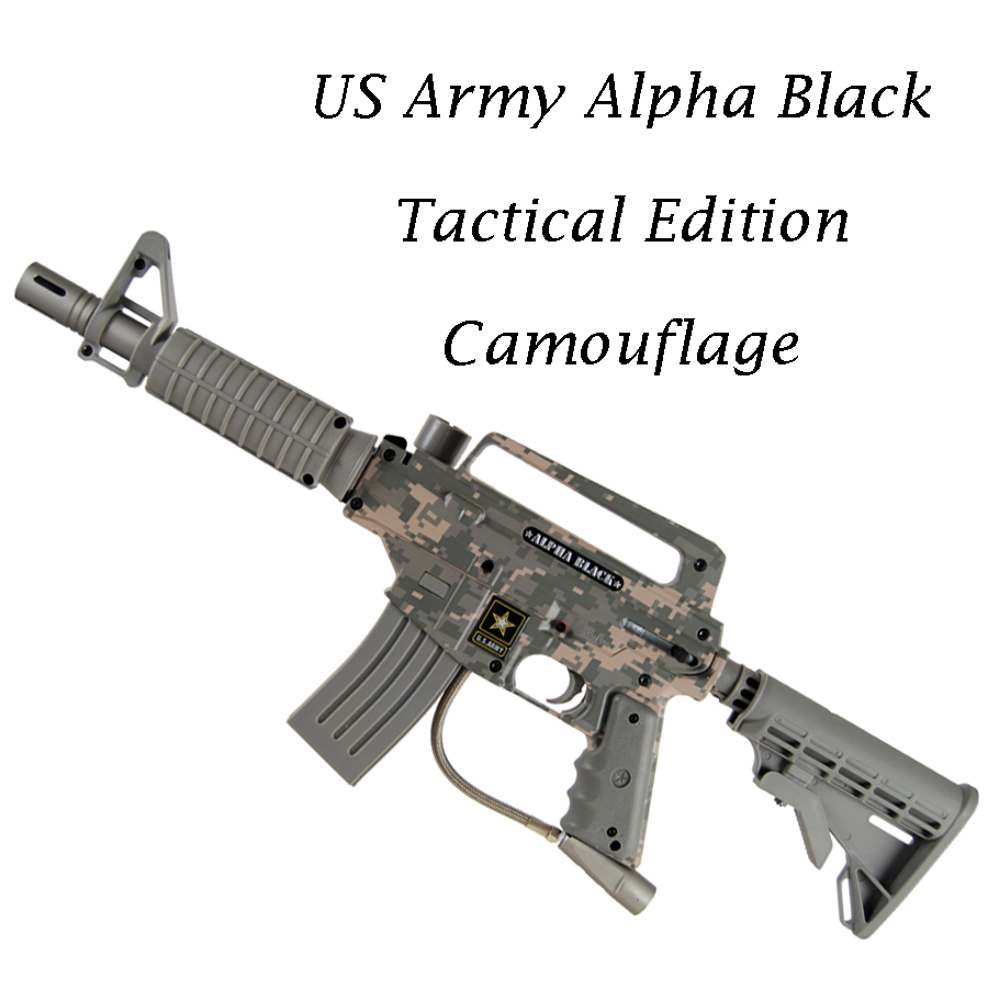 US Army Alpha Black Tactical - Camo